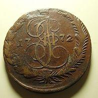 Russia 5 Kopeks 1772 - Russie