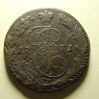 Russia 5 Kopeks 1771 - Russie