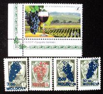 1994-2006  Moldova Mnh - Uva Raisin Grape Traube Vino Vin Wine Vendange Vintage Viticultura Vigne Vinho - Moldavia