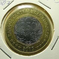 Comoros 250 Francs 2013 - Comores