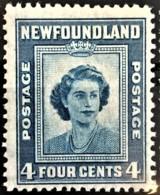 NEWFOUNDLAND 1947 - MNH And Canceled - Sc# 269 - 4c - 1908-1947