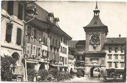 XW 3559 Murten Morat - Berner Tor / Viaggiata 1953 - FR Fribourg
