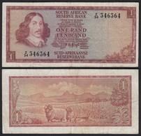 Südafrika - South Africa 1 Rand (1967) Pick 109b F (4)  (25564 - Bankbiljetten