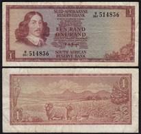 Südafrika - South Africa 1 Rand (1975) Pick 116b F (4)    (25561 - Altri – Africa