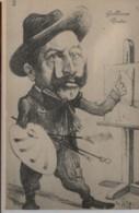 ILLUSTRATEUR - ORENS - Caricature De Guillaume II De Bavière - Guillaume Peintre - Orens