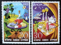 2005 Cyprus Mnh - Europe  Uva Raisin Grape Traube Vino Vin Wine Vendange Vintage Bread Tea Candle Candles Gastronomy - Ongebruikt
