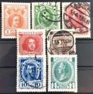RUSSIA 1913 - MLH/canceled - Sc# 88-94 - Gebraucht