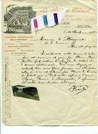 BASSE MEUSE / HERMALLE SOUS ARGENTEAU / COLONIALES / VIN ET SPIRITUEUX / SYNDICAT COLONIAL / LIEGE / ARMEE ALLEMANDE - Historical Documents