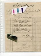 BASSE MEUSE / HACCOURT / FACTURE / - Historical Documents