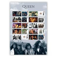 Great Britain 2020 - Queen Album Cover Collector's Sheet - Unused Stamps