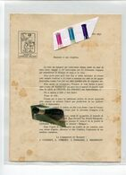 LIEGE / HOTEL DE  DINANT / HERSTAL / SOCIETE DE LITTERATURE WALLONNE / WALLON - Historical Documents