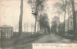 Belgique St Saint Mard Entrée De L' Avenue Bouvier - Virton