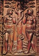 CATHEDRALE D AUCH Detail Des Stalles Adam Et Eve 19(scan Recto-verso) MA2086 - Auch