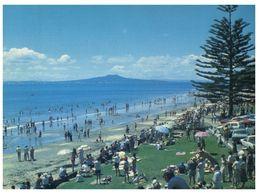 (G 30) New Zealand - Mairangi Bay (with Stamp) - Nouvelle-Zélande