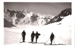 Glacier De Tré La Tête  Le Mont Tondu - Skieur - Chamonix-Mont-Blanc