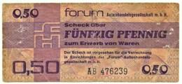 Germany - Democratic Republic - 50 Pfennig - 1979 - Pick: FX 1 - Serie AB - FORUM Aussenhandelsgeselischaft M. B. H. - [14] Forum-Aussenhandelsgesellschaft MBH