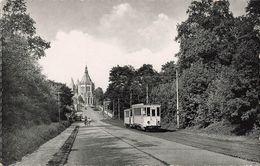 Belgique Bonsecours Bon Secours Avenue De Comdé Tram Tramway CPSM PF Cachet Bon Secours 1955 - Altri
