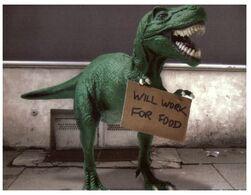 (G 30) Dinosaur (2 Cards) - Animaux & Faune