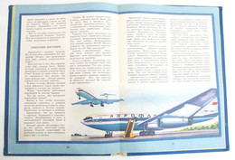 Russian Book Aeroflot Constructor Air Craft MIG TU 144 AN SU MIG 1979 Helicopter - Unclassified