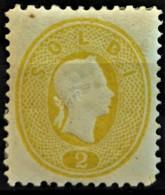 AUSTRIA 1860/61 - MLH - ANK 18Na. - Neudruck 1887 - 2s - Essais & Réimpressions