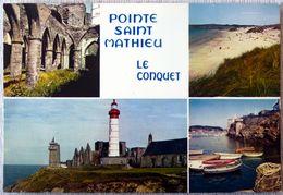 Pointe Saint Mathieu :le Phare Et Les Ruines / Le Conquet : Plage Des Blancs-Sablons - Frankreich