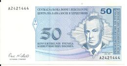 BOSNIE HERZEGOVINE 50 CONVERTIBLE PFENIGA ND1998 UNC P 57 - Bosnië En Herzegovina