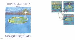 (G 27) Australia - Premier Jour / FDC - 1990 - Christmas - Christmas Island