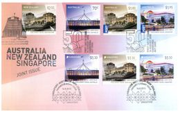 (G 27) Australia - Premier Jour / FDC - 2015 (Joint Issue) With New Zealand And Singapore - Ersttagsbelege (FDC)