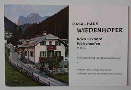 NOVA LEVANTE / WELSCHNOFEN - CASA WIEDENHOFER / HAUS - Dolomiti  NV TA3 - Bolzano (Bozen)