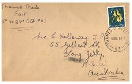 (G 27) Older Cover - New Zealand - 1961 - FDC