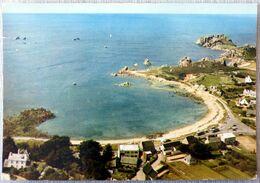 Primel-Trégastel : En Avion Au Dessus De....la Baie De Trégastel - Frankreich