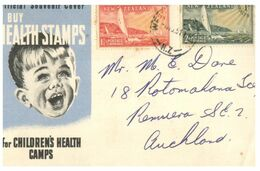 (G 27) Older Cover -  New Zealand - Health - FDC