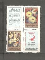 Yugoslavia - 1990. Red Cross, MNH - Beneficenza