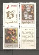 Yugoslavia - 1990. Red Cross III, MNH - Beneficenza