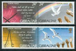 1995Gibraltar710-713PaarEuropa Cept7,00 € - 1995