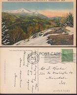 Postcard - USA - 1940 - Lake Placid - Whiteface Mountain From Cobble Hill - Circulee - A1RR2 - Adirondack