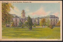 Postcard - USA - Circa 1940 - Mahan Hall - US Naval Academy - Non Circulee - A1RR2 - Annapolis – Naval Academy