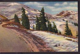 Postcard - USA - Circa 1930 - Rocky Mountains - Non Circulee - A1RR2 - Rocky Mountains