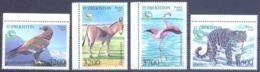 2019. Uzbekistan, Fauna Of Uzbekistan, 4v, Mint/** - Uzbekistan