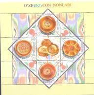 2019. Uzbekistan, Uzbeck Bread, S/s,  Mint/** - Uzbekistan
