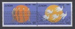 1995Greece1874C-1875CPaarEuropa Cept8,00 € - 1995