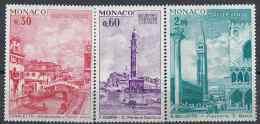 1972 MONACO 887-89** UNESCO, Sauvez Venise - Unused Stamps