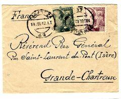 35298 - De BARCELONE Pour La France - 1931-50 Briefe U. Dokumente