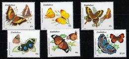 Zimbabwe - UMM Butterflies 1992 - Zimbabwe (1980-...)