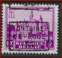 Zegel Nr. 308  Voorafstempeling Nr. 5955 FONTAINE L'EVEQUE 1930 In  Positie C ; Staat Zie Scan ! - Precancels