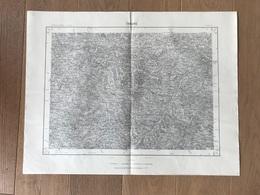 Carte 1/50000 TARARE (Rhone) 1961 - Carte Geographique