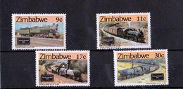 Zimbabwe - UMM Zim Train Safaris 1985 - Zimbabwe (1980-...)