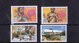 Zimbabwe - UMM 50th Anniversary National Archives 1985 - Zimbabwe (1980-...)