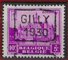 Zegel Nr. 308 Voorafstempeling Nr. 5962 GILLY 1930 In De Positie  C  ; Staat Zie Scan ! - Precancels