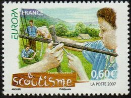 CEPT / Europa 2007 France N° 4049 ** Le Scoutisme - Europa-CEPT